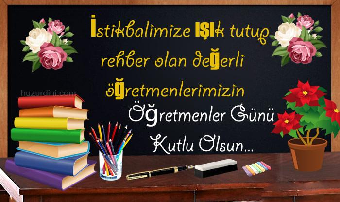 En güzel öğretmenler günü sözleri